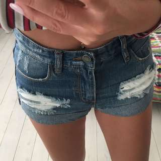 Thrills denim hot pants
