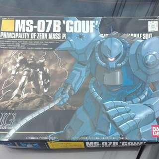 Bandai HGUC Gundam MS-07B Gouf 1/144 kit