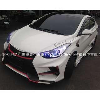 【FB搜尋小惟優質汽車】二手中古車 現代 2013年 1.8 依倫強