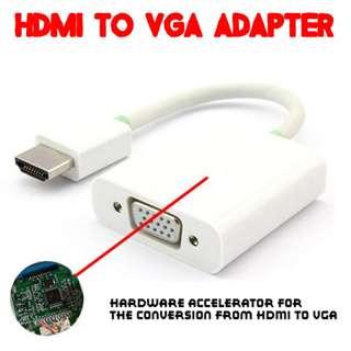 TVD019 HDMI to VGA Adapter