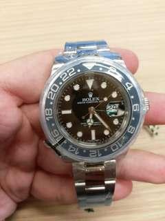 Rolex 116710LN 綠針