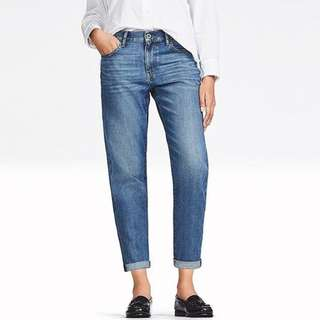 Uniqlo Kaihara Denim Boyfriend Jeans