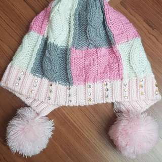 Crochet hat, glove & legging