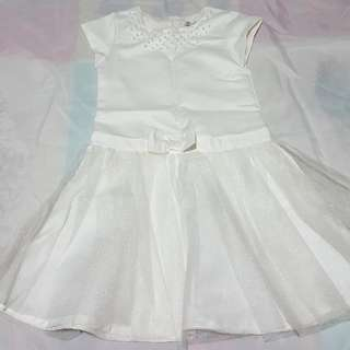 Preloved Girls clothes - white dress