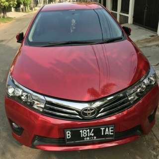 Dijual Toyota Altis 1.8 G manual
