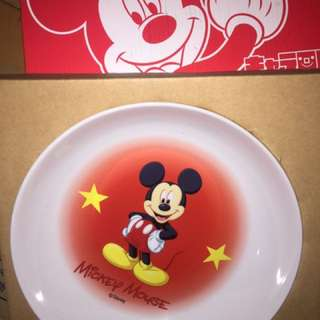 Mickey mouse collectible plate