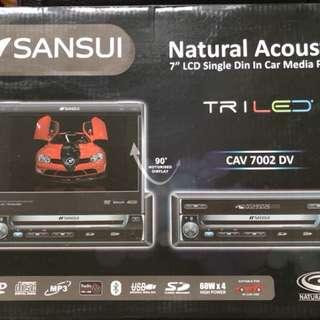 "7"" LCD MON (接合式)DVD 車機(1 DIN)"