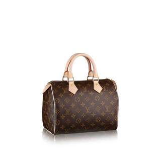 LV Speedy 25 Premium 1:1 Calf Leather