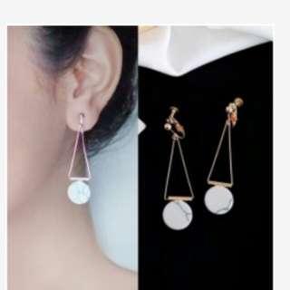 Anting earclip aksesories accessories