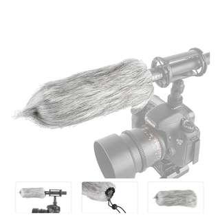 Boya BY B03 Fur Windscreen for PVM1000 Microphone Zoom H6 etc