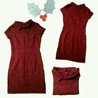 éprise red dress