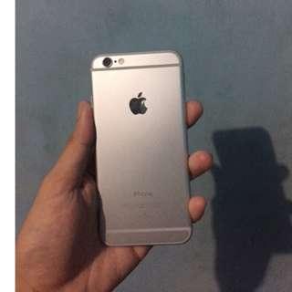 iPhone 6 Silver 64 gb - lock icloud (nego)
