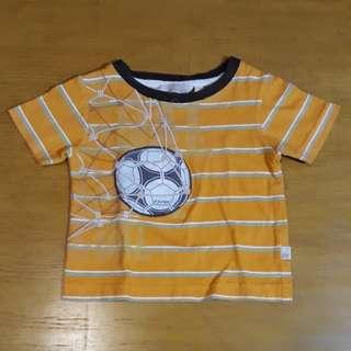 Orange Soccer Ball Shirt