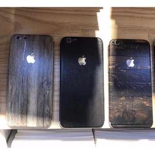 IPHONE 6/7/8/x 系列 彩色創意背面保護貼膜