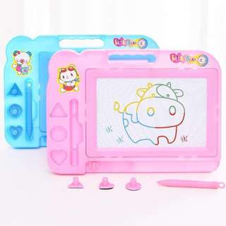 🍼LittleNation - Magnetic Drawing Writing Board Pink Baby Blue