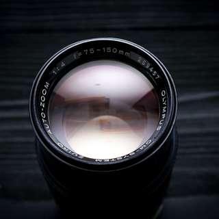 Olympus 75-150mm f4 OM mount zoom lens