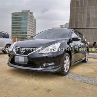 【FB搜尋小惟優質汽車】二手車中古車 日產2013年 1.6 BIG TIIDA 頂級