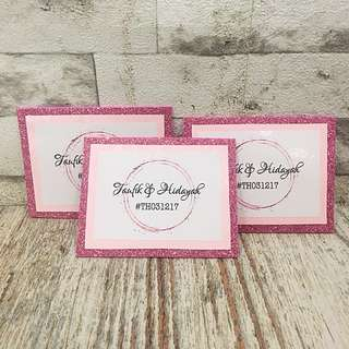 Personalised Dulang Label Tags