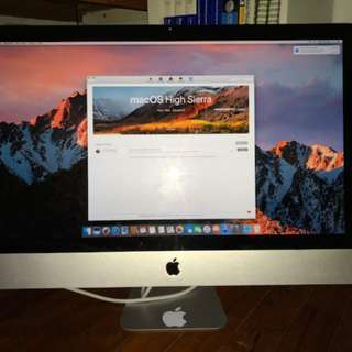 iMac 27-inch, 1TB HDD, 16GB RAM, Core i5