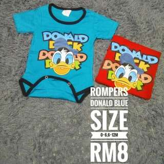 Rompers Donald Duck