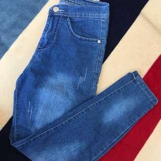 Highwaist Denim Pants
