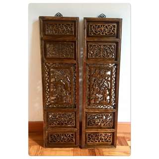 Large Chinese Carved Panels-Only $688!