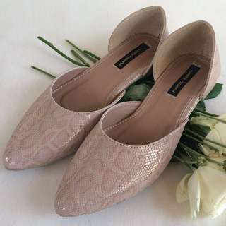 Flatshoes pinknude mulan in pinknude