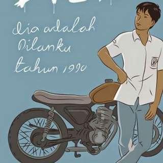 Ebook Dilan: dia adalah Dilanku tahun 1990