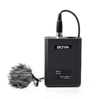 BOYA BY F8OD Professional omni directional lavalier microphone Mic