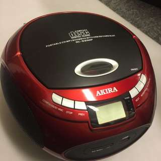 Akira Boombox with CD player and USB/SD card slot RC-92IMP