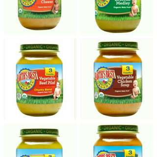 Earth's Best Organic Baby Food Stage 3