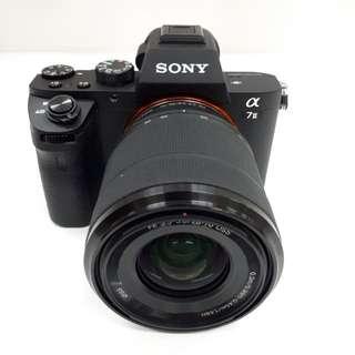 Kamera SONY Alpha 7 Mark2 (Kredit TANPA CC)