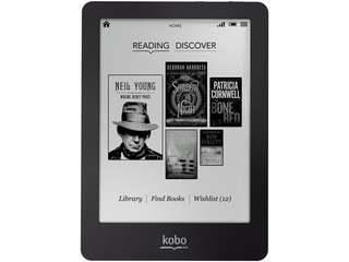 Kobo Glo n613 black e-reader