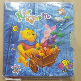 Winnie the pooh and piglet notebook