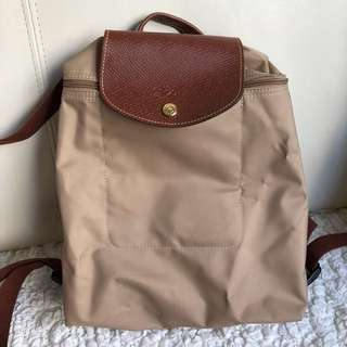 Authentic Long Champ Back pack ( worn once!)