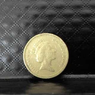£1 coin (1996)