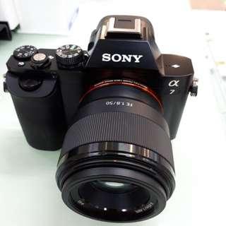 Kamera SONY Alpha 7 MURAH (Kredit DP 0%)