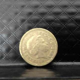 £1 coin (2003)