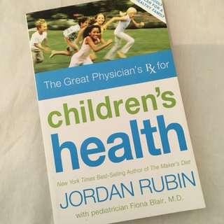 Charity Sale! Children's Health by Jordan Rubin