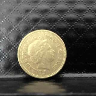 £1 coin (2005)