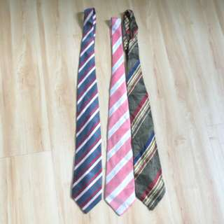 Package of 3 neck tie