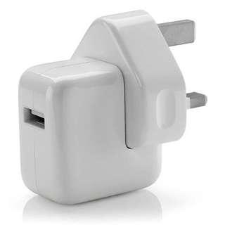 (Brand New In Box Apple Ipad 12 Watt Fast Charger