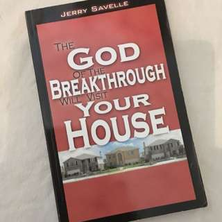 Charity Sale! The God of the Breakthrough will Visit your House by Jerry Savelle