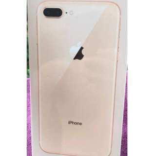 (SOLD) SEALED Iphone 8 Plus 256GB Gold MY Set