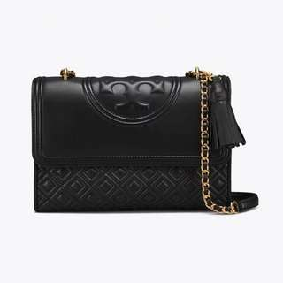 Tory Burch Fleming Matte Convertible Shoulder Bag
