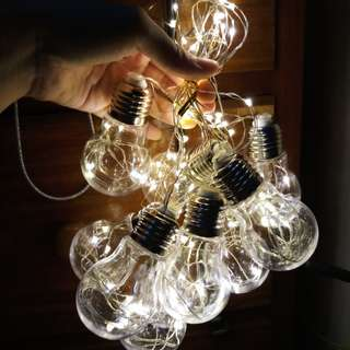 Light Bulb Fairy Lights