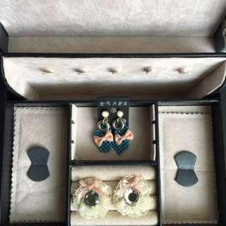 2 pair ( pasang ) Earing model : Korea
