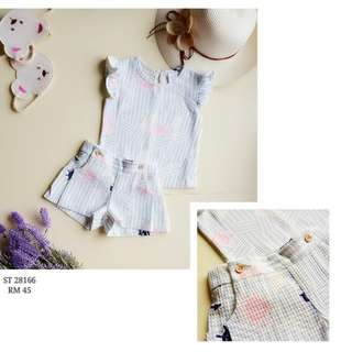 Blouse & shorts (2pcs set)