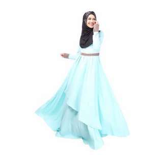 Zawara Adalia Exclusive Jubah Dress