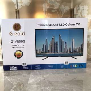 55 inch Smart tv, brand new, unopened !